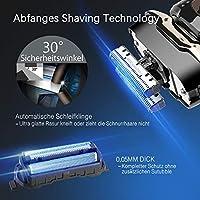MooSoo Afeitadora eléctrica de la maquinilla de afeitar masculina ...