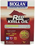 Bioglan Red Krill Oil + Fish Oil Capsules - Pack of 30