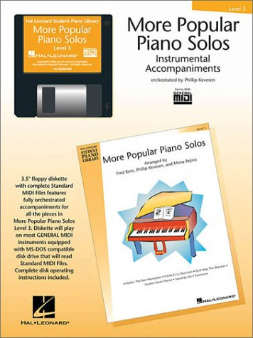 More Popular Piano Solos - Level 3 - GM Disk (Hal Leonard Student Piano Library (Audio)) by Hal Leonard Corporation