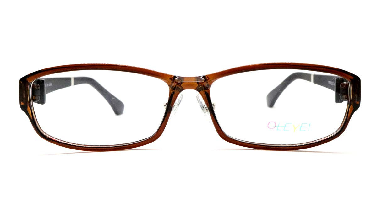 ピント調整力補助機能付き ザ サプリメガネ PCメガネ ブルーライト94%カット 紫外線ほぼ100%カット スマホにも最適 TR9223(ブラウン)(男性 普通) PD 男性 普通 ブラウン B07PP878Y7