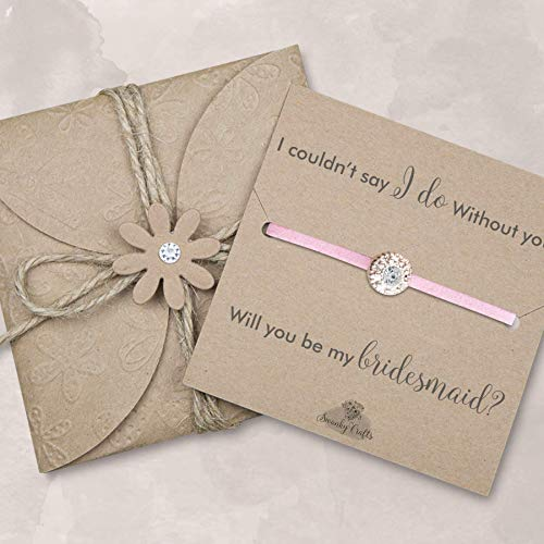 Bridesmaid proposal bracelet, will you be my bridesmaid