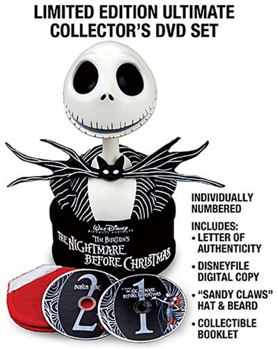 Tim Burton's The Nightmare Before Christmas: Collector's Edition - Ultimate Collector's DVD Set + Digital Copy -