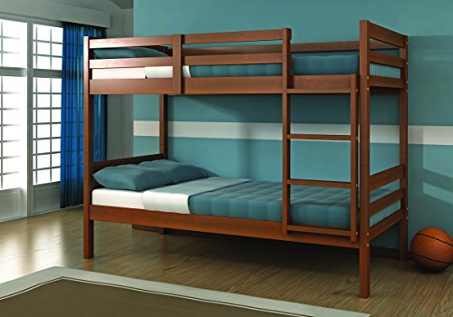 DONCO Kids 2004-E Mission Bunk Bed, Twin, Light ()