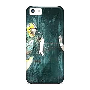 linJUN FENGHot Covers Cases For Iphone/ 5c Cases Covers Skin - Green Bay Packers
