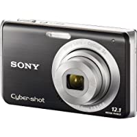 Sony Cybershot DSC-W190 12.1MP Digital Camera with 3x Super Steady Shot Stabilized Zoom and 2.7 inch LCD (Black) Review Review Image