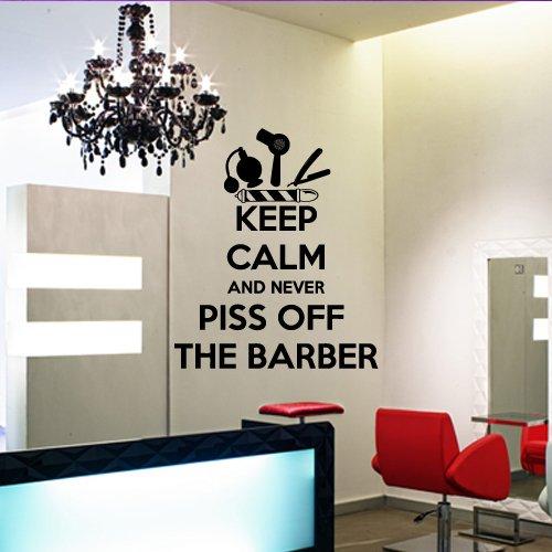 Amazon.com: Wall Decal Vinyl Art Decor Hairdressing Hair Salon ...