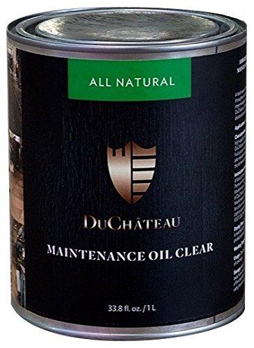 DuChateau Floors Maintenance Oil Clear 1 Liter (Pack of 2)