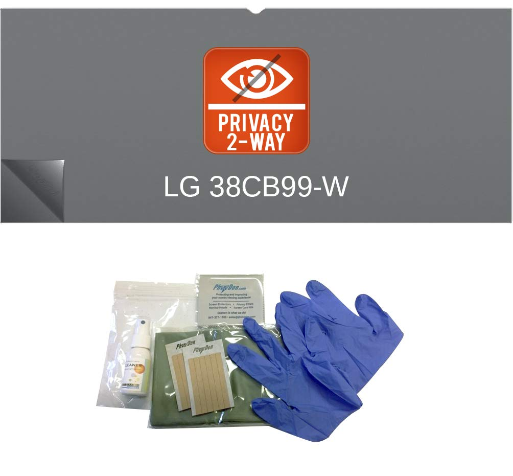 Photodon Tab Attachment Privacy Filter for LG