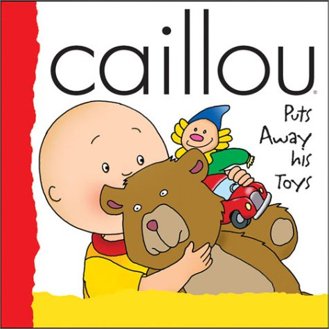 Caillou Tidies His Toys (Caillou Potty Training)