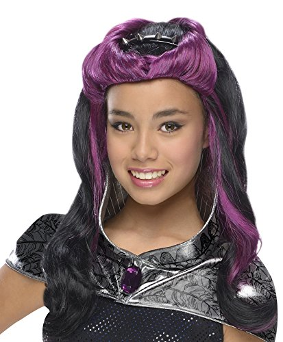 Monster High Band Dress Up (Rubies Ever After High Child Raven Queen Wig with)