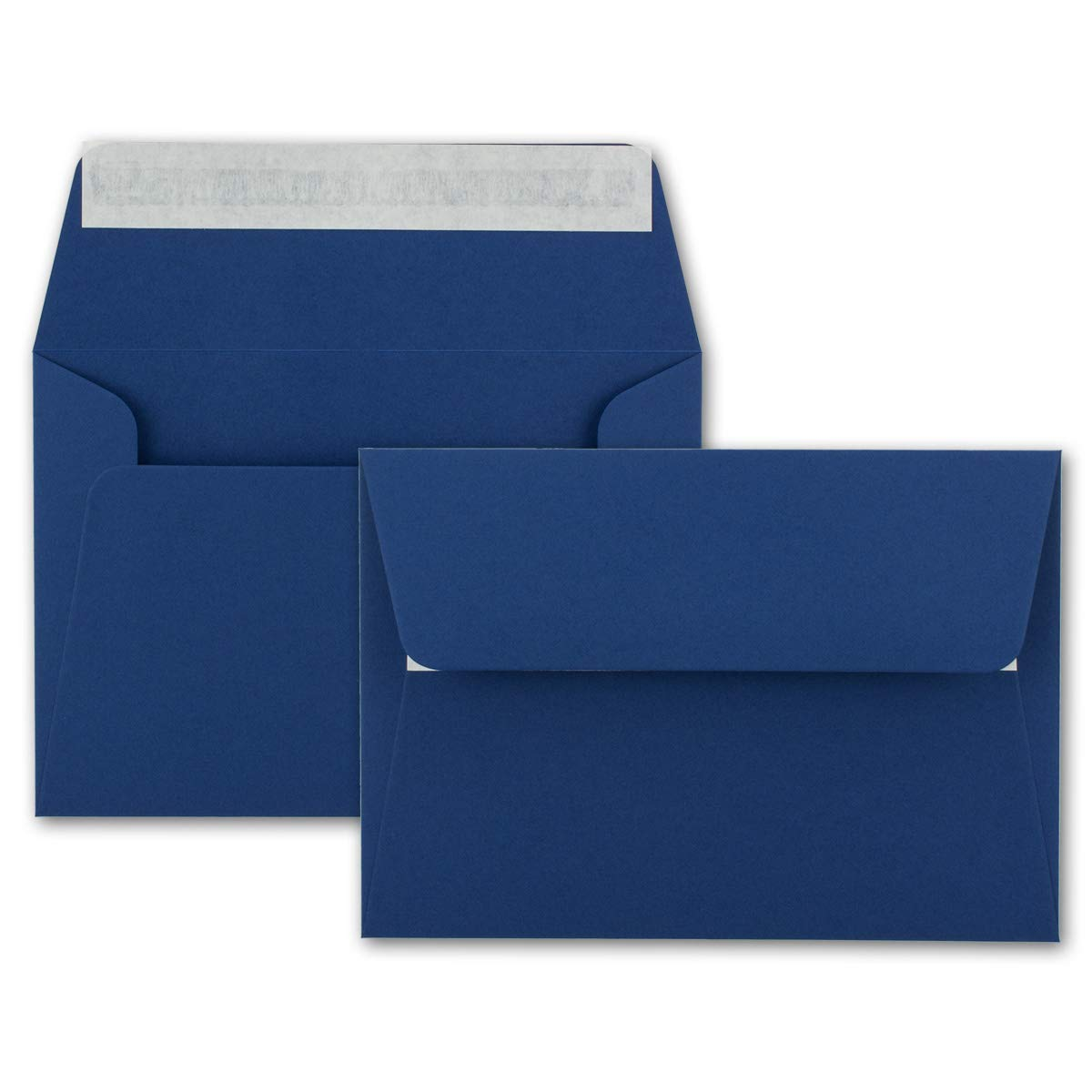 200x Brief-Umschläge B6 - - - Naturweiss - 12,5 x 17,5 cm - Haftklebung 120 g m² - breite edle Verschluss-Lasche - hochwertige Einladungs-Umschläge B078HDJSL3 | Trendy  8ef780