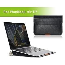 "Simpiz Rock MacBook Air 11"" Laptop Sleeve Case Cover Bag Carrying Case (Black)"