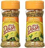 Mrs. Dash Lemon Pepper Salt-Free Seasoning, Pack of 2