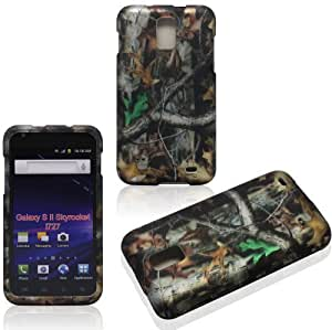 NADIA Magic Diy 2D Camo Trunk V Samsung Skyrocket i727/ Galaxy S II AT&T case xExRhNQwDSy cover case cover Snap-on Rubberized Touch case cover Faceplates