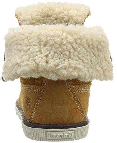 Timberland Ek Deering Fold Down Unisex-Kinder Sneaker Gelb (Jaune (Wheat))