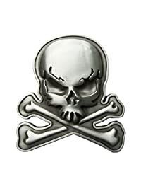 New Skull With Bones Vintage Belt Buckle Gurtelschnalle Boucle de ceinture