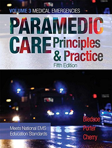 Paramedic Care: Principles & Practice, Volume 3 (5th Edition)