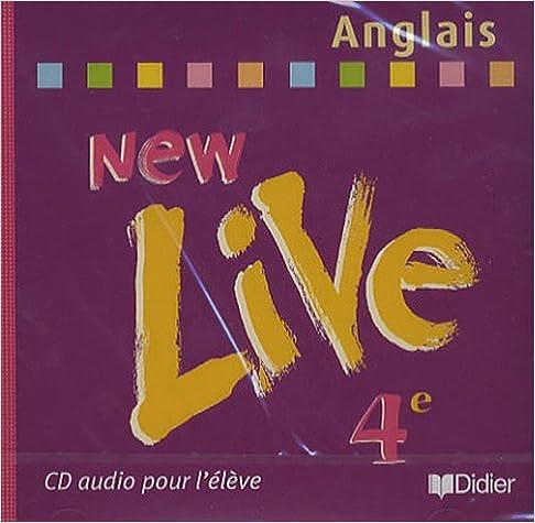 New live quatrième 2002 CD eleve Anglais pdf, epub ebook