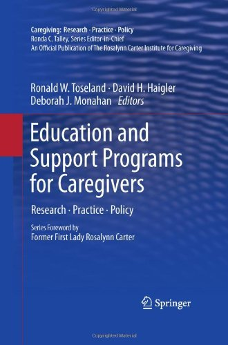 Download Education and Support Programs for Caregivers: Research, Practice, Policy (Caregiving: Research • Practice • Policy) Pdf