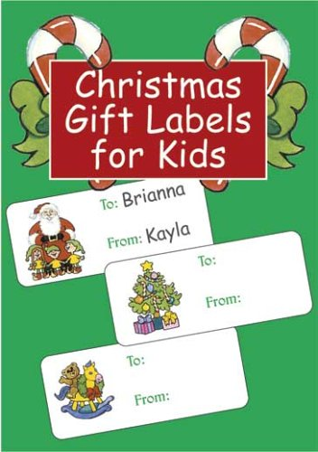 Christmas Gift Labels for Kids (Dover Stickers) pdf