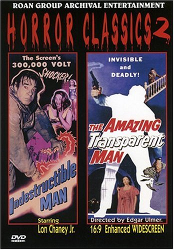 Horror Classics Vol. 2: Indestructible Man/The Amazing Transparent Man