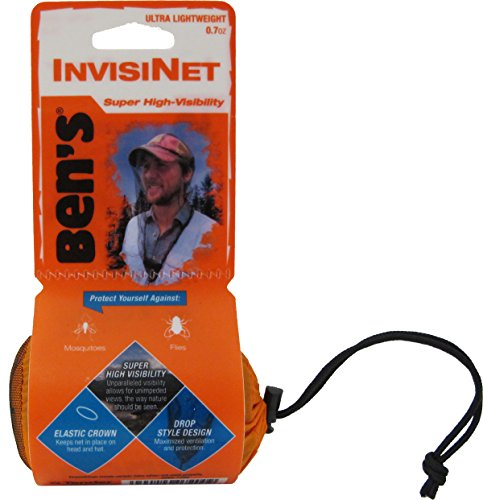 Price comparison product image Ben's InvisiNet Mosquito, Tick and Insect Repellent Head Net