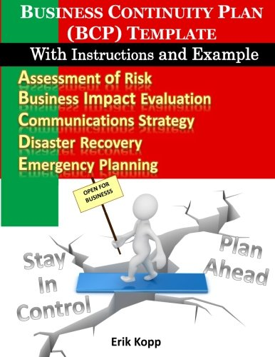 business continuity plan bcp template with instructions and example