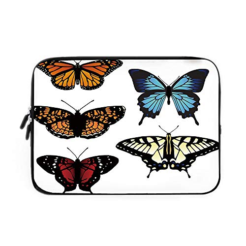 Swallowtail Butterfly Laptop Sleeve Bag,Neoprene Sleeve for sale  Delivered anywhere in USA