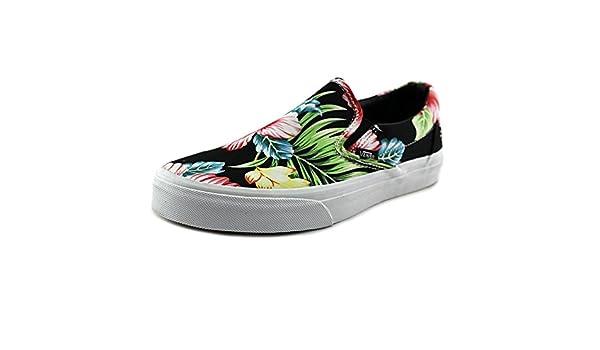 Vans CLASSIC SLIP HAWAII Zapatillas Sneakers Negro para Mujer y47DAvXEJh