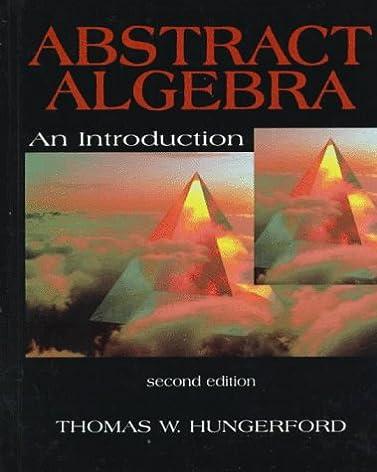 abstract algebra an introduction thomas w hungerford rh amazon com Abstract Algebra PDF Abstract Algebra Help