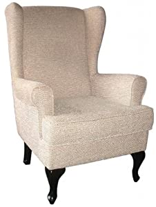 New Paris Orthopedic Arm Chair Winged High Back Chair 19