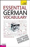 Essential German Vocabulary, Lisa Kahlen, 0071736832