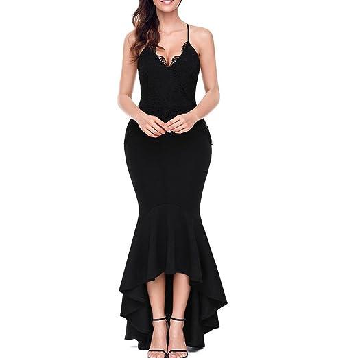 66772edc0c Prom Dress Solid Color Tube Top Back Cross Straps Sleeveless Womens Fishtail  Evening Dresses Long Back