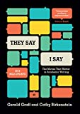 """They Say / I Say"": The Moves That Matter in Academic Writing, with 2016 MLA Update (Third Edition) фото"