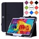 samsung 10 inch tablet - WAWO Samsung Galaxy Tab 4 10.1 Inch Tablet Smart Cover Creative Folio Case (Black)