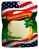 888Warehouse - Authentic American Ginseng Powder, Grind from High Quality American Ginseng Roots - No Fillers, No Additives, 100% Natural (4oz / .25lb Bag)