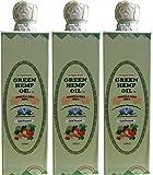 Cold pressed Green hemp oil 500ml 3 pcs set