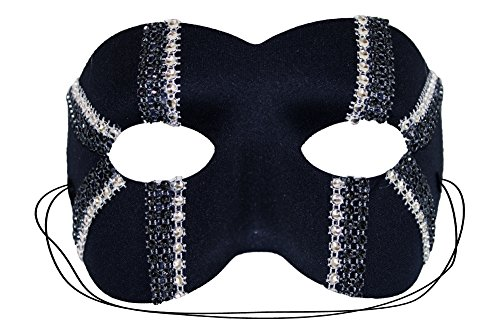 [Daredevil Trax Black Men's Masquerade Mask] (Soft And Sexy Mask)