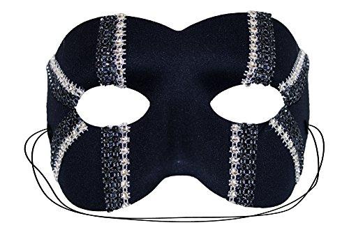 Daredevil Halloween Masks (Daredevil Trax Black Men's Masquerade Mask)