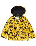 Oakiwear Children's Rain Jacket, Construction Vehicles 8