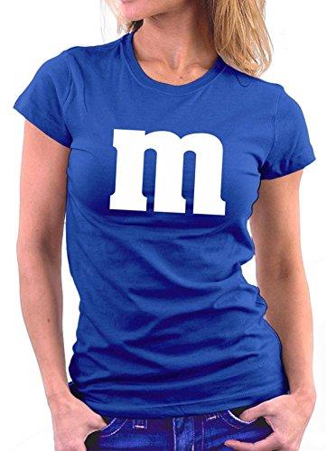 Million Nation M Woman T-shirt Royal H4p3hMI5w