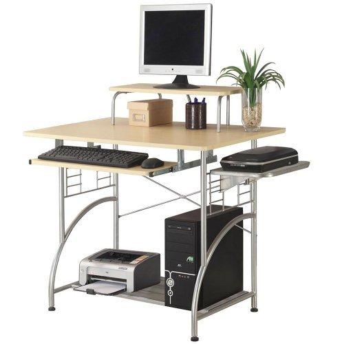 Ergocraft C-1122 Cormac Computer Desk, Maple Laminate ErgoCraft