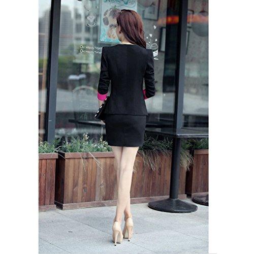 Yinxiang Liying - Traje con falda - Básico - para mujer negro