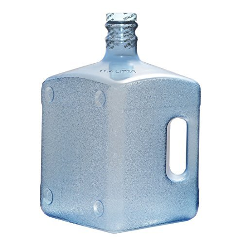 - 3 Gallon Square Shape Polycarbonate Plastic Reusable Drinking Water Bottle USA