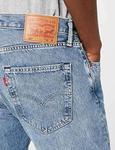 2465 Fit 501 crosby Homme Jeans Original Levi's Levi's Bleu f8xOqxS