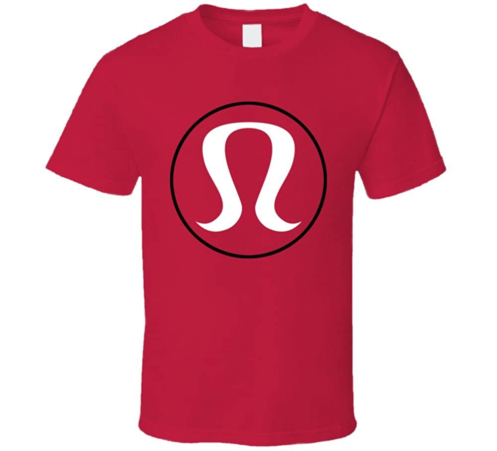 Camiseta Bandit Lululemon Yoga Fitness logo T Shirt: Amazon ...