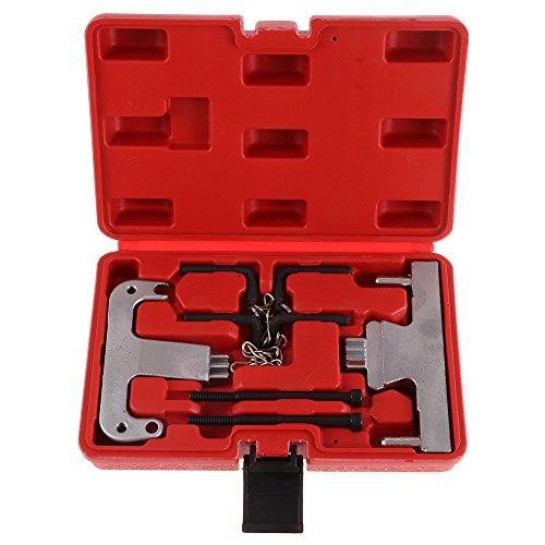 SCITOO Fit Mercedes-Benz Engines Camshaft Timing Chain Locking Flywheel Tool Kit Flywheel Plate Locking Tools