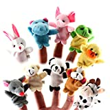 YaptheS 10 x Finger Puppets. Animal Shape. 10 Styles per Set Interesting Objects