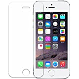 iPhone SE Screen Protector, Wisdompro 0.33 mm Tempered Glass Screen Protectors for Apple iPhone SE, iPhone 5s, iPhone 5c, and iPhone 5(1 Pack)
