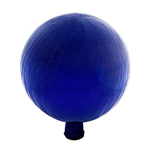 Ball Mirror Blue - Achla Designs 12-Inch Crackle Gazing Globe Ball, Blue